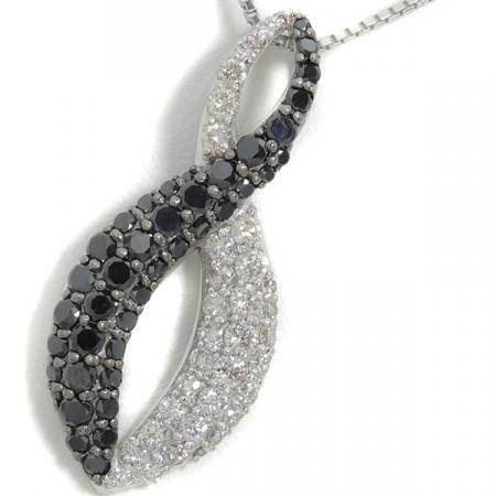 ブラックダイヤ / ダイヤモンドネックレス
